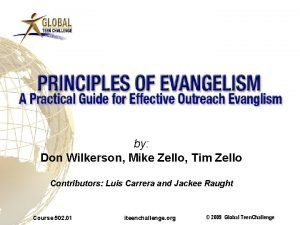 by Don Wilkerson Mike Zello Tim Zello Contributors