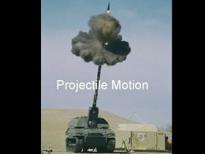 Projectile Motion Independence of Motion in 2 Dimensions