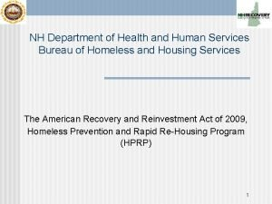 NH Department of Health and Human Services Bureau