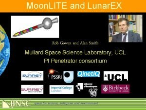 Moon LITE and Lunar EX Rob Gowen and