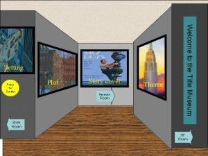 Press for Curator Museum Entrance Plot Story cover