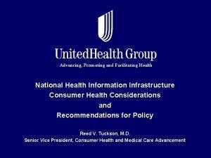 Advancing Promoting and Facilitating Health National Health Information
