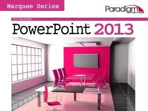 Paradigm Publishing Inc 1 Skills SECTION 2 SKILLS