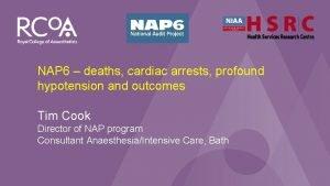 NAP 6 Perioperative Anaphylaxis NAP 6 deaths cardiac