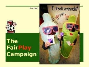 Bochum The Fair Play Campaign Fair Play 2006