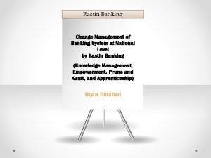 Rastin Banking Change Management of Banking System at