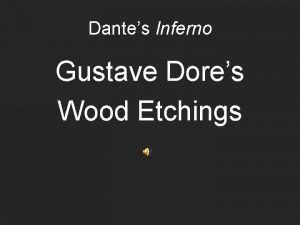 Dantes Inferno Gustave Dores Wood Etchings Dante Astray