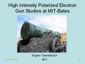 High Intensity Polarized Electron Gun Studies at MITBates