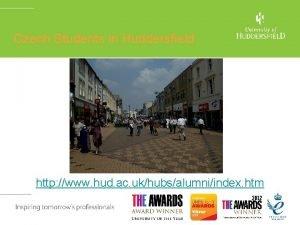 Czech Students in Huddersfield http www hud ac