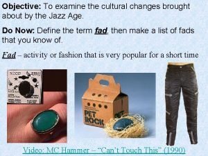 Objective To examine the cultural changes brought about