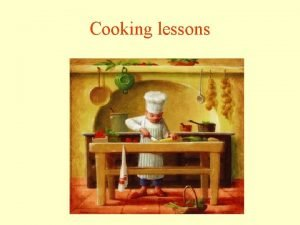 Cooking lessons Recipe book Cooking book Recipe book