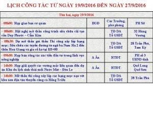 LCH CNG TC T NGY 1992016 N NGY