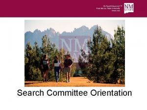 All About Discovery New Mexico State University nmsu