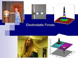 Electrostatic Forces Investigation 1 p 792 794 What
