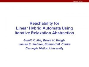 Reachability for Linear Hybrid Automata Using Iterative Relaxation