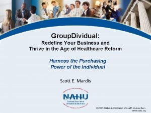 Group Dividual Redefine Your Business and Thrive in