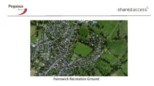 Painswick Recreation Ground Painswick Recreation Ground No Planning