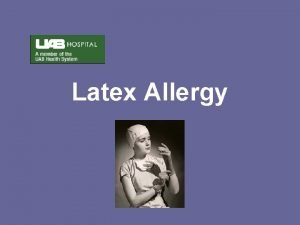 Latex Allergy What is Latex Natural rubber latex