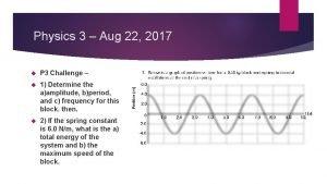 Physics 3 Aug 22 2017 P 3 Challenge