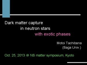 Dark matter capture in neutron stars inconstraints neutron