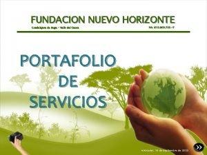 FUNDACION NUEVO HORIZONTE Guadalajara de Buga Valle del