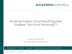 Would the Federal Circuit Rebuff Egyptian Goddess Nontrivial