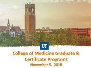 https graduate education med ufl edu https graduate