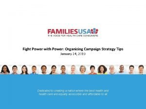 Fight Power with Power Organizing Campaign Strategy Tips