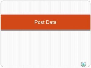 Post Data Batch Stat CR and Post AQS