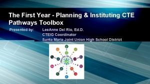 The First Year Planning Instituting CTE Pathways Toolbox