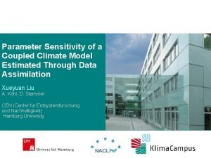Parameter Sensitivity of a Coupled Climate Model Estimated