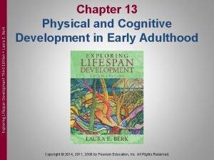 Exploring Lifespan Development Third Edition Laura E Berk