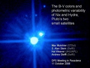 The BV colors and photometric variability of Nix