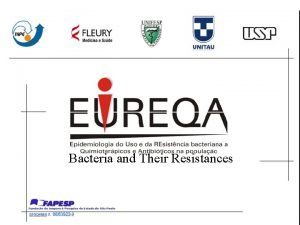 Bacteria and Their Resistances Kiffer C R V