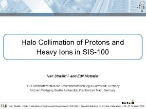 Halo Collimation of Protons and Heavy Ions in