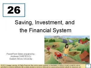26 Saving Investment and the Financial System Power