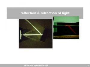 reflection refraction of light 1 light cf light