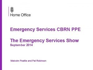 Emergency Services CBRN PPE The Emergency Services Show