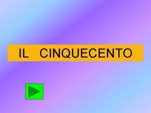IL CINQUECENTO MUSICA SACRA MUSICA PROFANA MUSICA STRUMENTALE