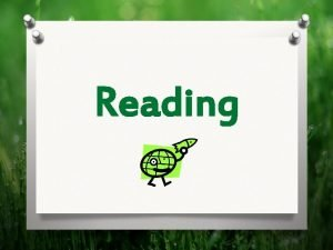 Reading Matching Reading TrueFalse Match the animals to
