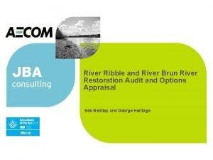 River Ribble and River Brun River Restoration Audit
