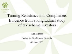 Turning Resistance into Compliance Evidence from a longitudinal