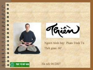 Ngi trnh by Phm nh T Thi gian