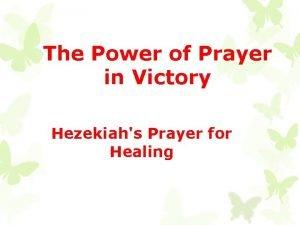 The Power of Prayer in Victory Hezekiahs Prayer