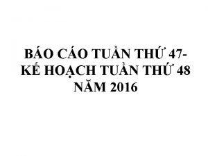 BO CO TUN TH 47 K HOCH TUN