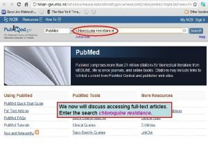 We now will discuss accessing fulltext articles Enter