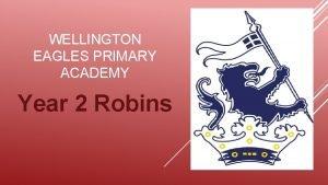 WELLINGTON EAGLES PRIMARY ACADEMY Year 2 Robins Whos