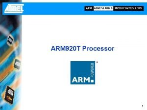 AT 91 ARM 7 ARM 9 MICROCONTROLLERS ARM