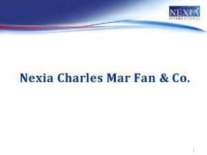 Nexia Charles Mar Fan Co 1 Charles Mar