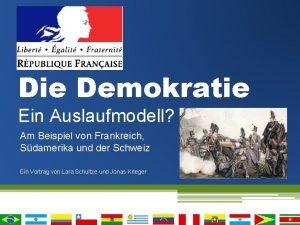 Die Demokratie Ein Auslaufmodell Am Beispiel von Frankreich